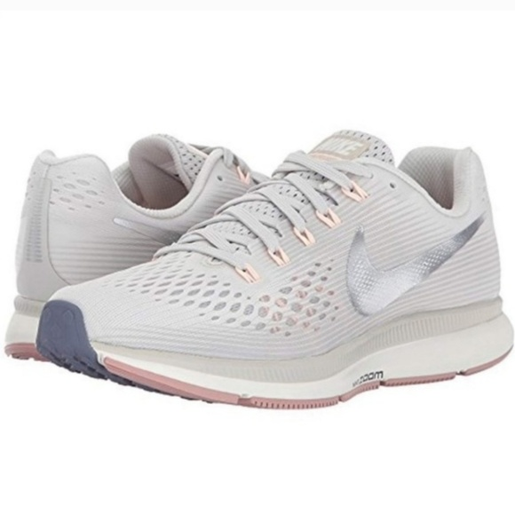 Sfortuna Per terra Problema  Nike Shoes | Nwt Nike Air Zoom Pegasus 34 Light Bonechrome | Poshmark